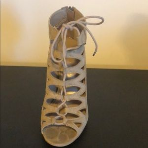 Chinese Laundry Shoes - Lace up heels